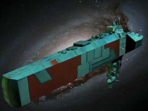 Nave Espacial Acorazado Espacial Por Damian Maggi Youtube