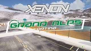 Xenon Racer - Grand Alps Cortina Track Gameplay [4K 60FPS]