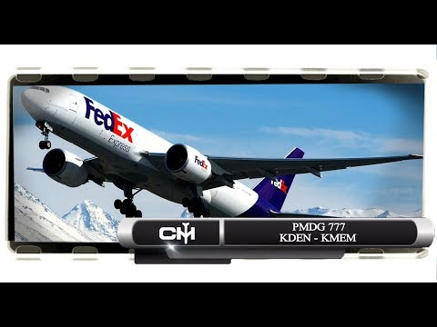 [FSX] PMDG 777 | Full Flight Tutorial | KDEN to KMEM