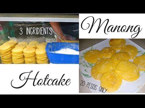 Manong Hotcake Recipe in Lock Down | 3 Ingridients | 20 pesos only! | Step by Step| Street Food