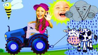 Дождик, дождик, уходи!  Развивающие мультики для детей от Ба Би Бу
