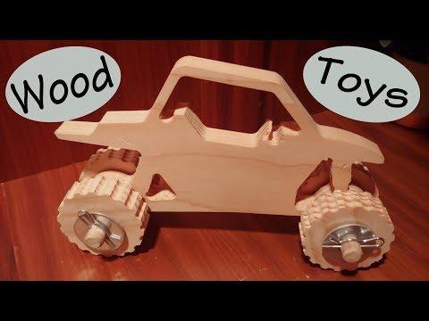 DIY Wood Toy Trucks