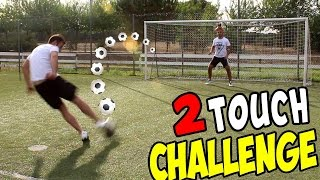 TWO TOUCH CHALLENGE vs ILLUMINATI CREW ( Speciale 400.000 iscritti )