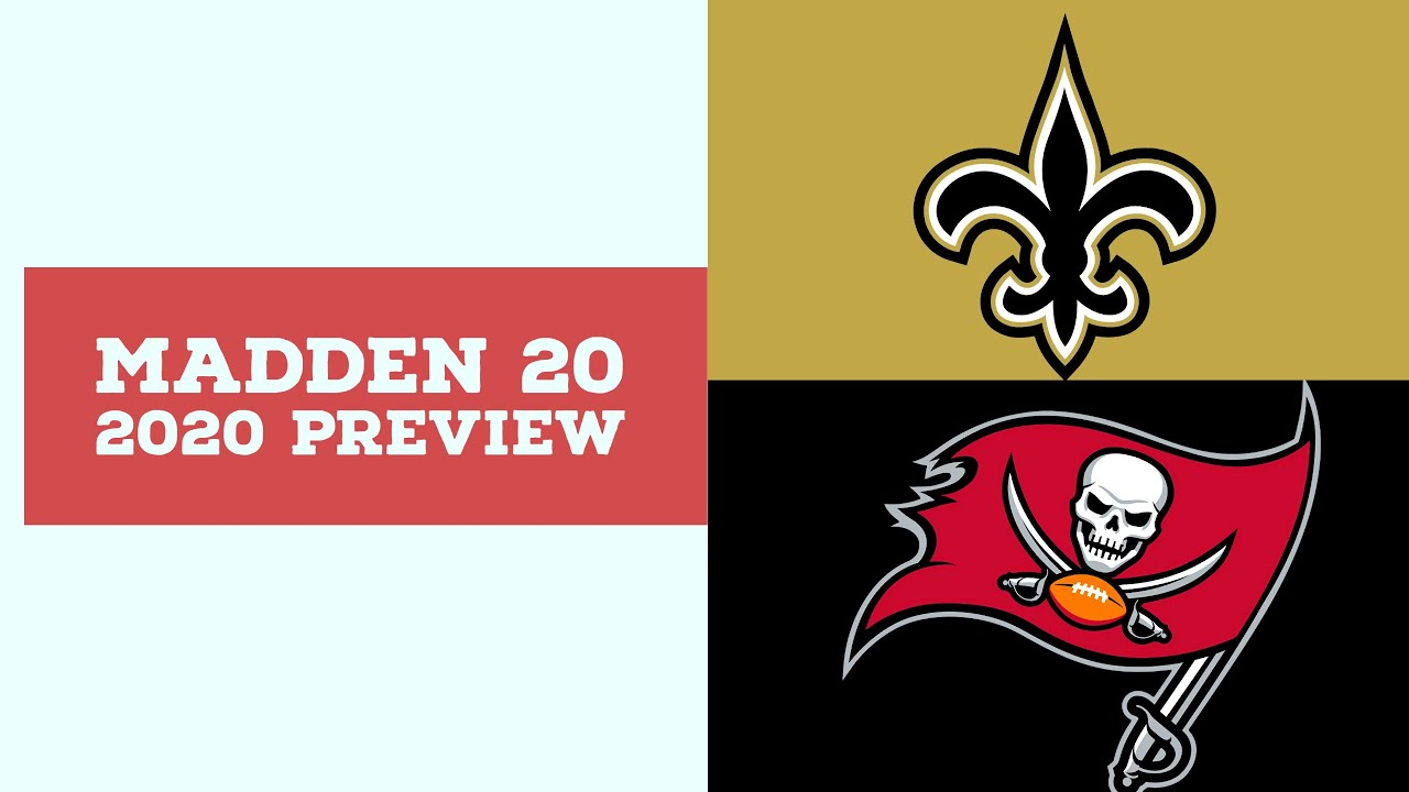 2020 Week 9 Preview - New Orleans Saints vs Tampa Bay Buccaneers - Simulation Nation