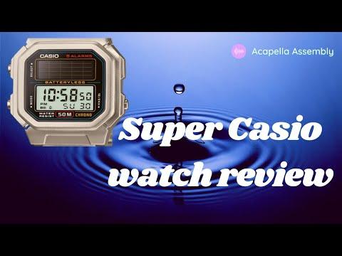 Casio Digital Watch Review model A159W