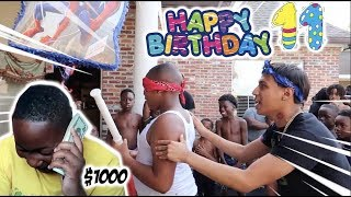 SURPRISING TORY WITH $1000 FOR HIS 11TH BIRTHDAY!