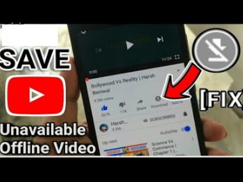 Save unavailable Offline YouTube video | without aap | Unavailable video ko kaise save Kevin YouTube