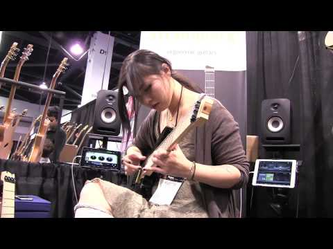 NAMM 2015 - Yvette Young Performance I GEAR GODS