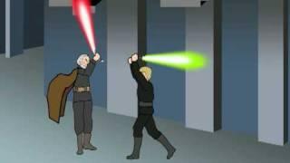 Luke Skywalker vs The Dark Side (Part 1-Color)
