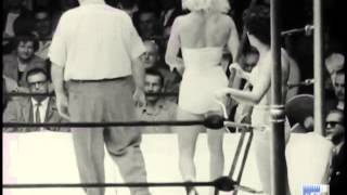 Rose Roman & Lorraine Johnson vs. Shirley Strimple & Ramona TeSelle (10/28/1955)