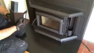 Pacific Energy Super Fireplace Insert Surround Pieces Installation