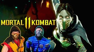 Scorpion & Sub-Zero REACT - MORTAL KOMBAT 11 JADE Reveal Trailer! | MK11 PARODY!