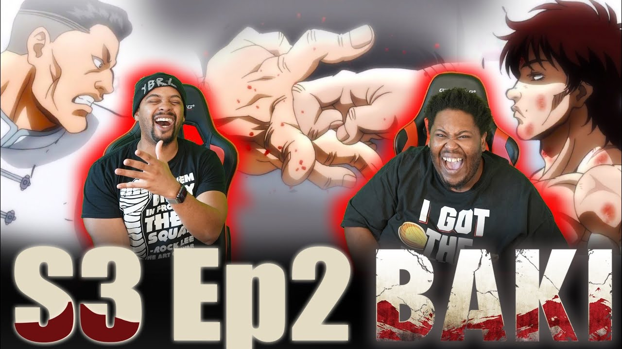 Download Baki Double Poisoned and…WTF?!  IIGHT🤷🏽♂️ Baki Season 3 Episode 2 Reaction