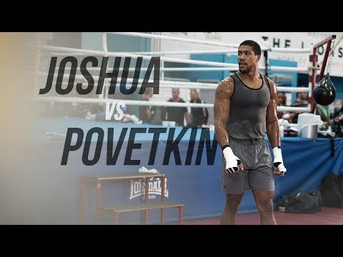 The Life Is Chose And I Live For It ~ Anthony Joshua