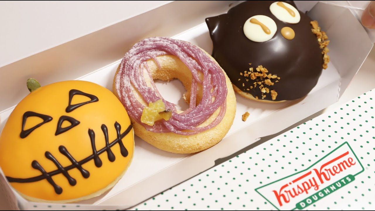 Krispy Kreme Donuts Japan Halloween Donuts