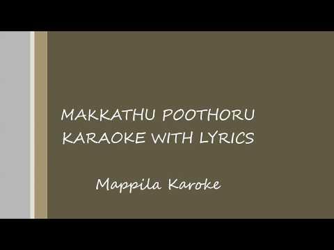 Makkathu Poothoru Karaoke With Lyrics | Maappila Song Lyrics HD