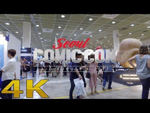 seoul city, Cosplay At Comic Con seoul 2017 4K