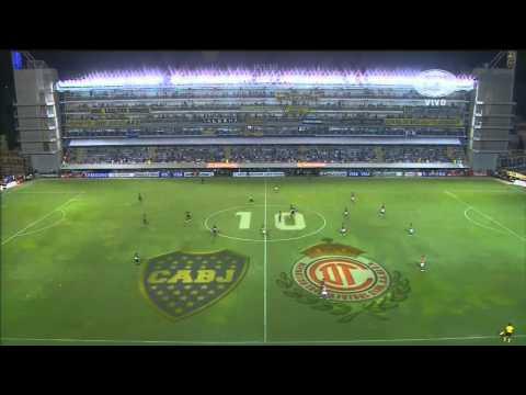 Boca 1 - 2 Toluca - Copa Libertadores 2013 Fase de grupos