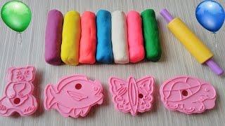 oyun hamuru-hamur oyunları-eğitici videolarplay doh videos-play dough-learn colors