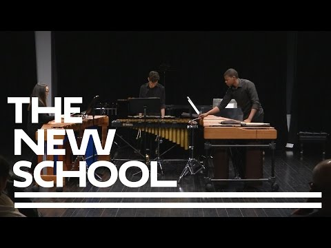 College of Performing Arts Admitted Students Day: Mannes Percussion I The New School