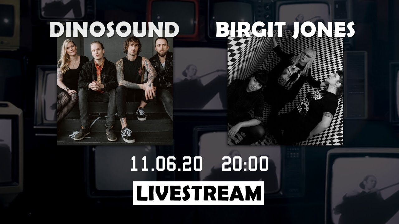 Strock.TV Livestream #3 - DinoSound & Birgit Jones