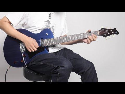 RYOGA  HORNET-T3V〜日本の新ブランドからオリジナル・デザインのギターが登場!【RYOGA NAVI】