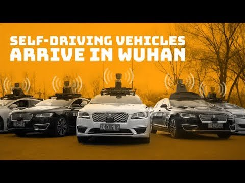Self-driving vehicles arrive in Wuhan