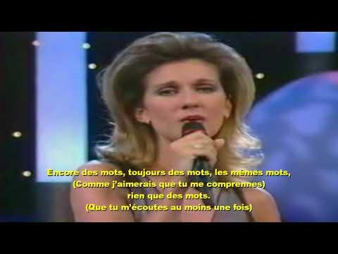Céline Dion et Alain Delon - Paroles, paroles