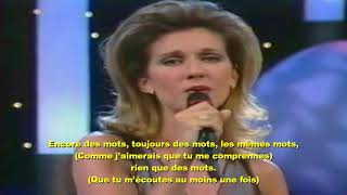 Gambar cover Céline Dion et Alain Delon - Paroles, paroles