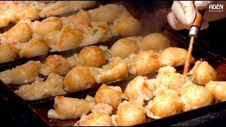 Japanese Street Food: Takoyaki in Osaka