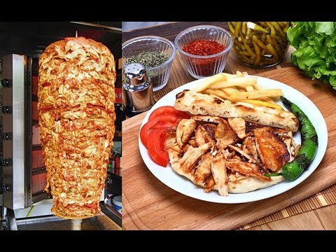 Turkish Doner Chicken Kebap Recipe Traditional Food