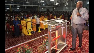 Bishop Dunstan Maboya akihubiri  kwenye kongamano la Shiloh Mlima wa Moto Mikochen B