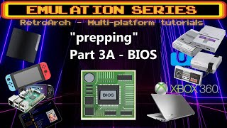 """Prepping"" your system for Retroarch - PT.3A -  BIOS which ones are required, checksums, retropie"