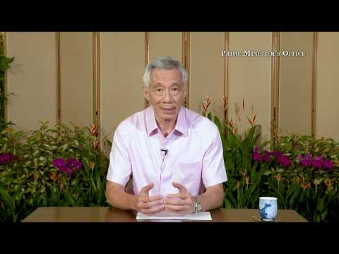 Prime Minister Lee Hsien Loong's address on Covid-19 situation, April 10