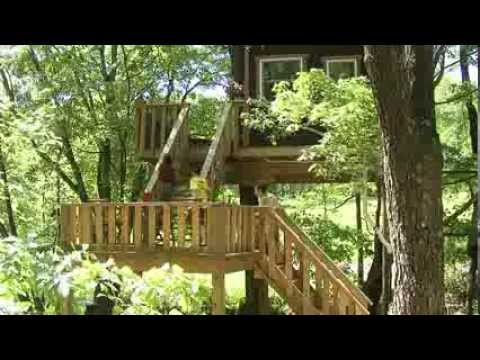 Timber Ridge Outpost & Cabins, a Treehouse & Log Cabin Resort in the Shawnee Forest