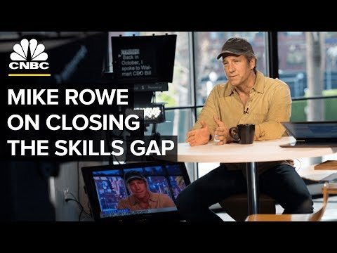 Mike Rowe: Why The Skills Gap And Job Shortage Persists | CNBC