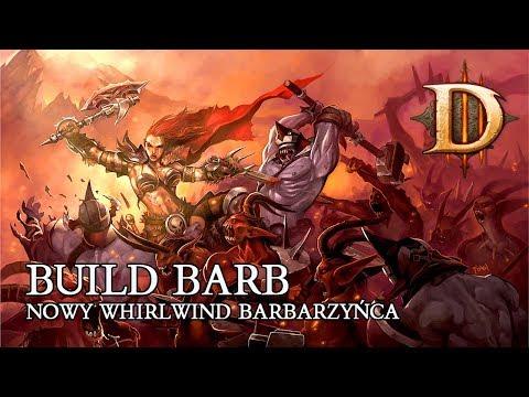 DIABLO 3 PL - BUILD BARB NOWY WW BARB ( WHIRLWIND BARB PATCH 2.6.1 )