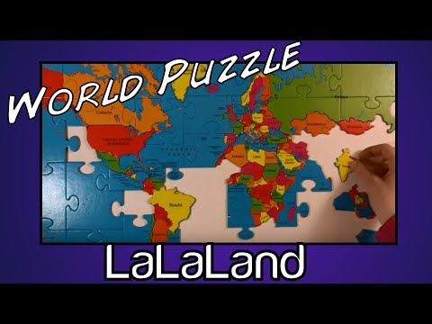 World puzzle Geography Fun