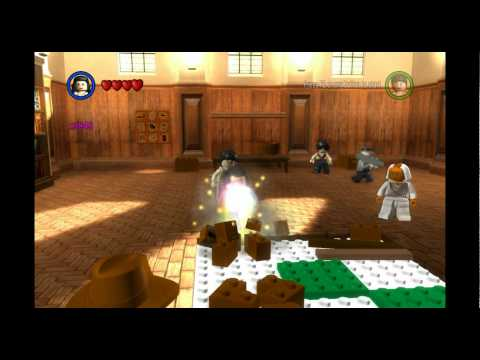 Lets Play Lego Indiana Jones Bonus Levels 1 Opening The Bonus