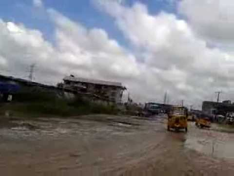 The Current State Of Port Harcourt Road In Aba