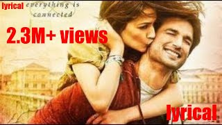 Raabta |  Kehte Hain Khuda Ne) with Lyrics | Jkm lyrics | hd