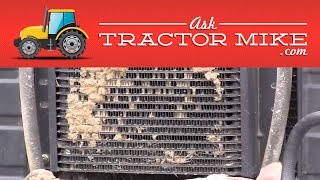 A Handy Way to Clean Your Tractor Radiator