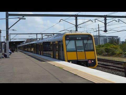 Trains at Wolli Creek - Sydney Trains