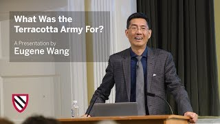 Eugene Wang | What Was the Terracotta Army For? || Radcliffe Institute thumbnail