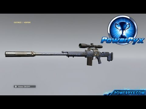 Metal Gear Solid V: The Phantom Pain - How to Unlock Weapon Customization