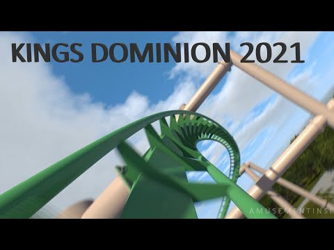 Is Kings Dominion Getting a Wing Coaster for 2021!? Video