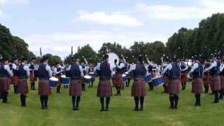 Field Marshal Montgomery Pipe Band - Craigavon & District Championships 2014 - Medley