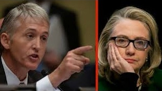 Hillary Clinton Snaps At Trey Gowdy & Gets Shutdown