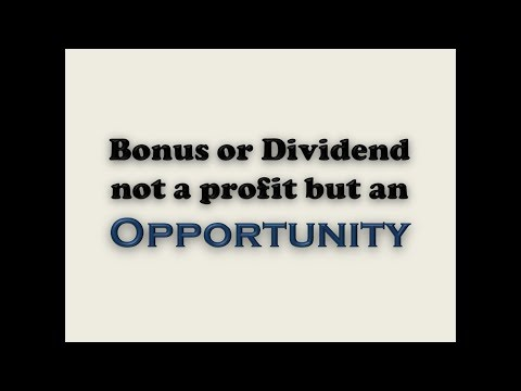 How to multiply bonus or dividend !! In Hindi ! Being Confused !!