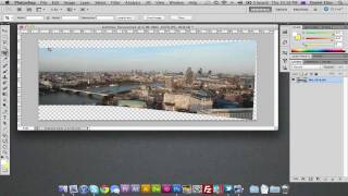 Create Panoramic Photography in Photoshop CS3, CS4 & CS5